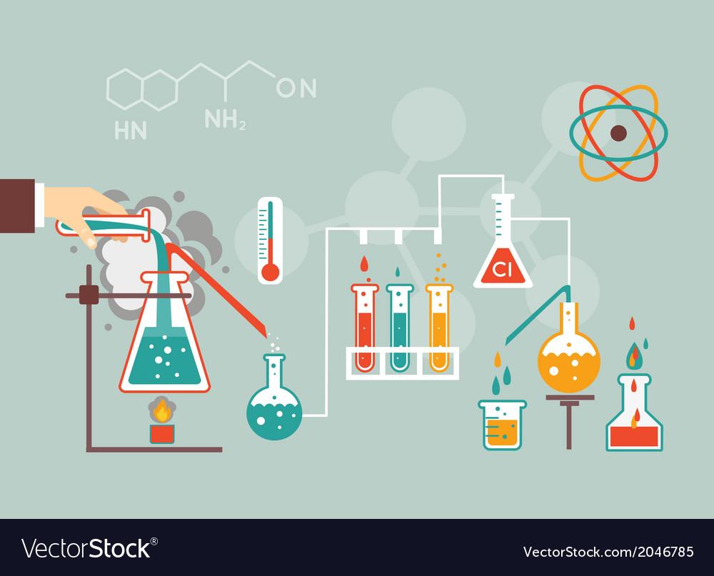 Chemistry demographic vector | Price: 1 Credit (USD $1)
