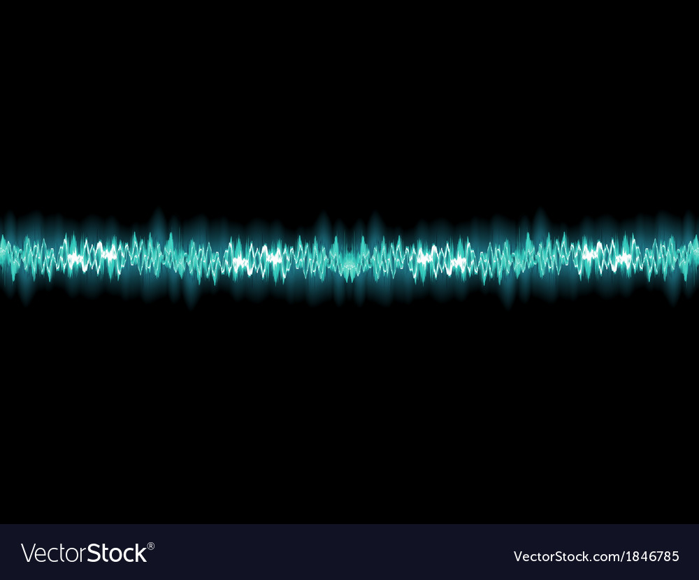 Seamless sound waves oscillating eps 10 vector | Price: 1 Credit (USD $1)
