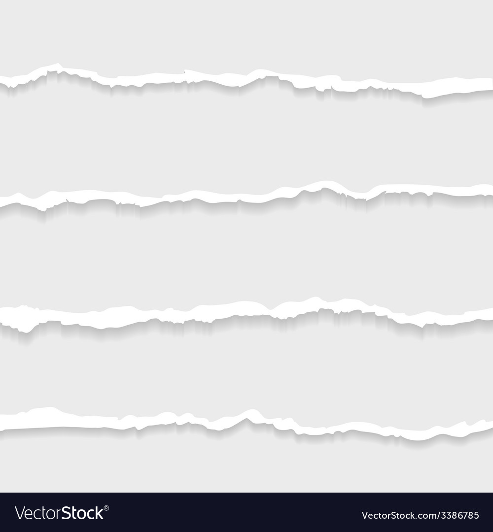 Set of lacerated elements vector | Price: 1 Credit (USD $1)