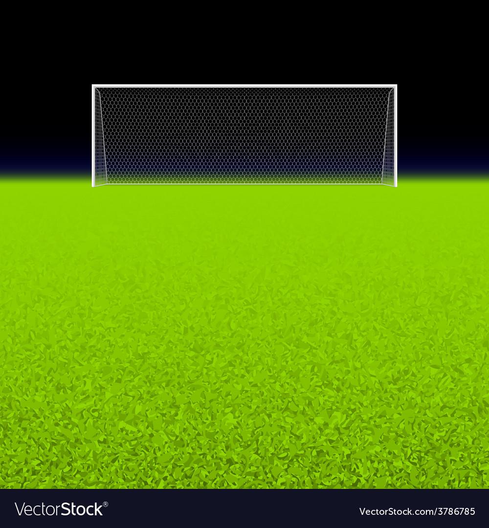 Soccer goal vector | Price: 1 Credit (USD $1)