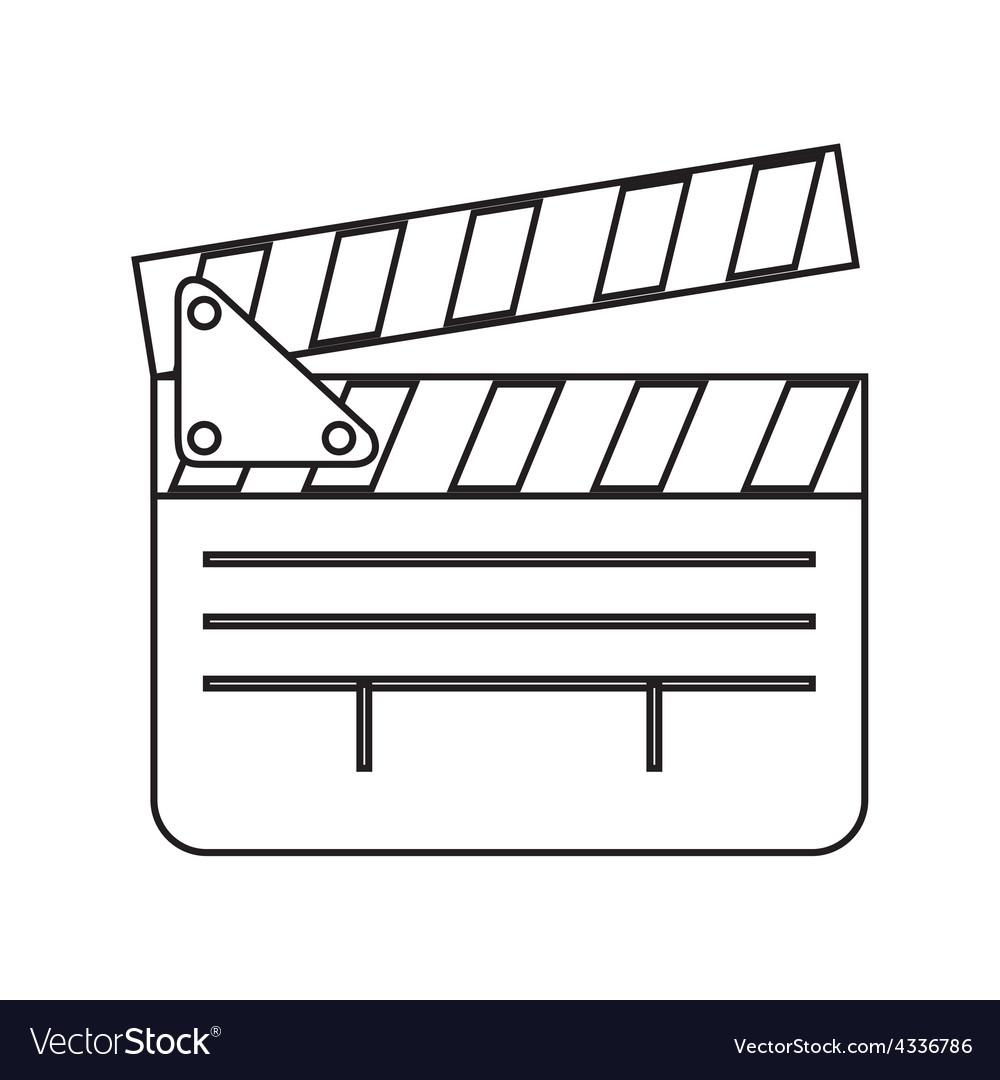 Cinema icons vector | Price: 1 Credit (USD $1)