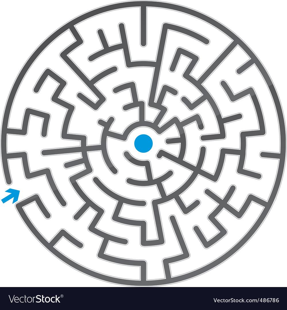 Gray maze vector   Price: 1 Credit (USD $1)