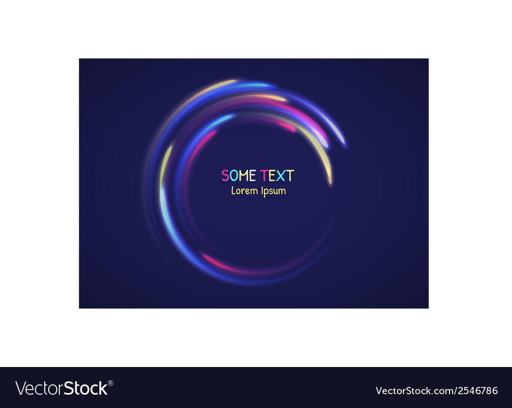 Rainbow abtract element vector   Price: 1 Credit (USD $1)