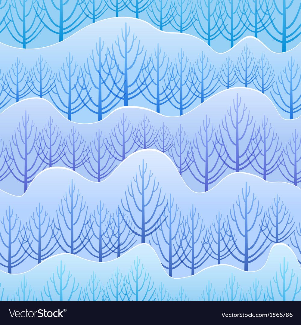 Winter pattern vector | Price: 1 Credit (USD $1)