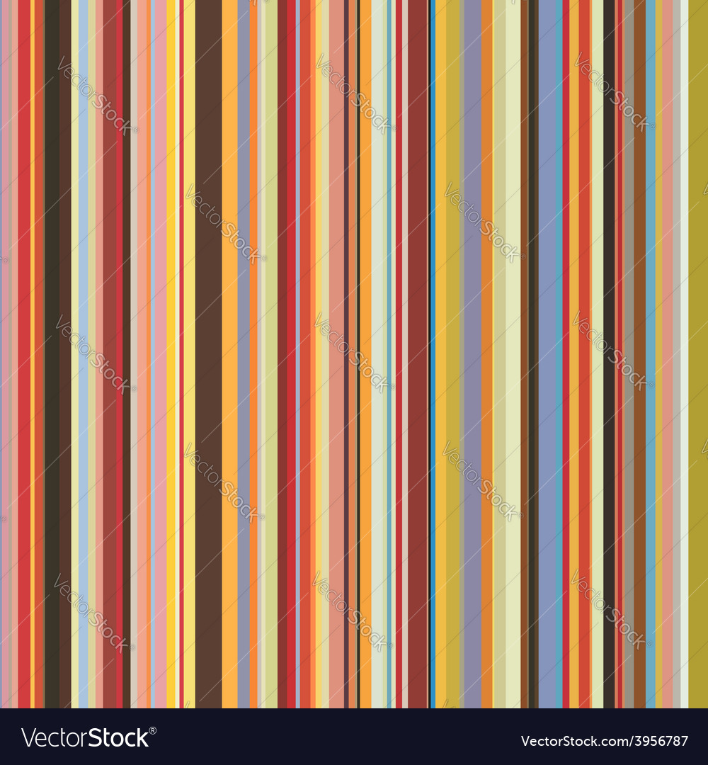 Colored vertical stripes seamless pattern vector | Price: 1 Credit (USD $1)
