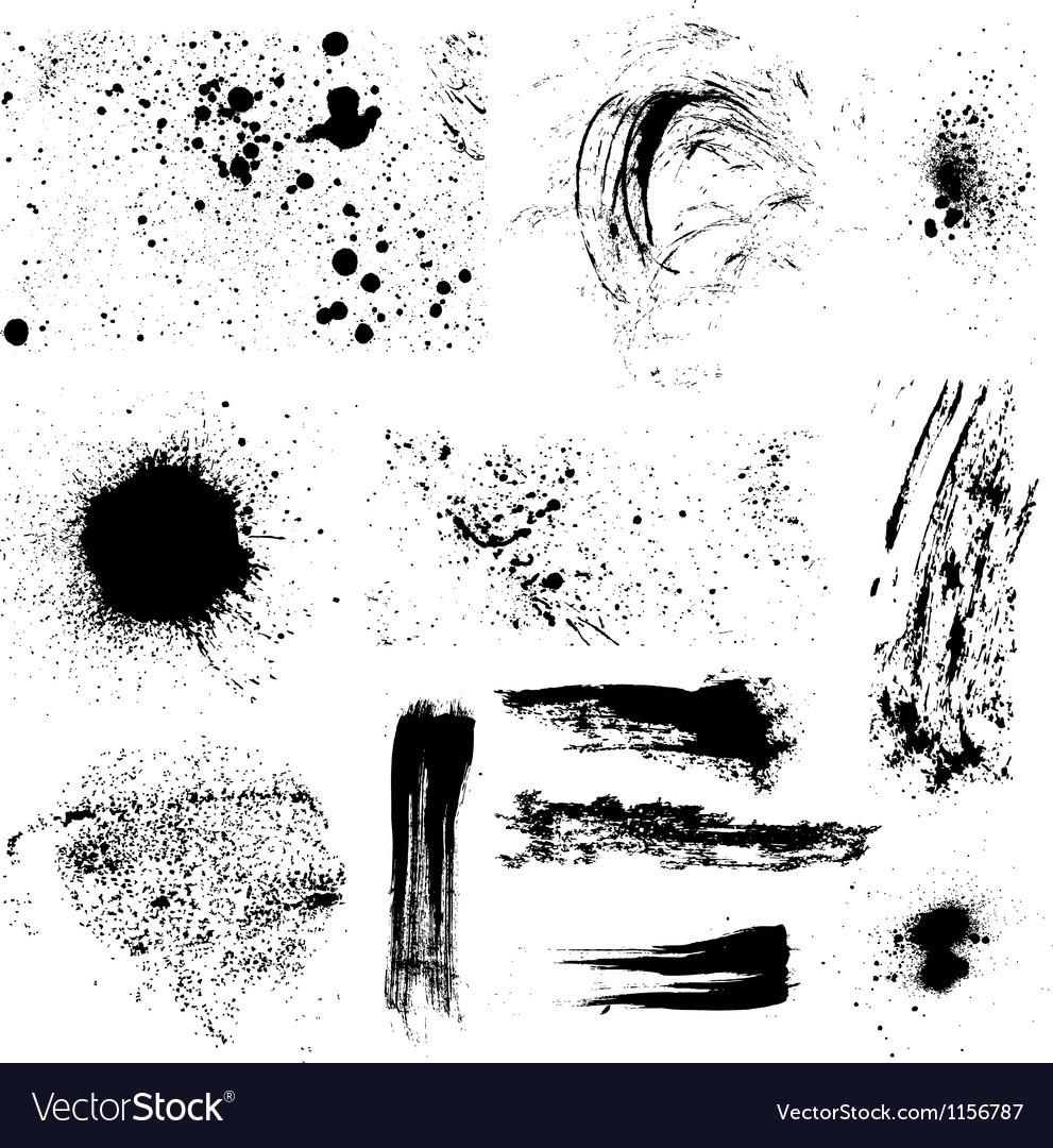 Grunge elements vector | Price: 1 Credit (USD $1)