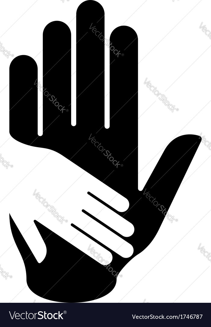 Helping hand vector   Price: 1 Credit (USD $1)