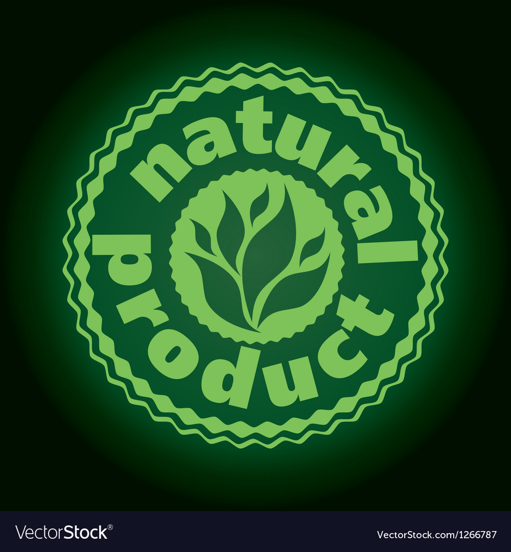 Logo printing brand natures product vector | Price: 1 Credit (USD $1)