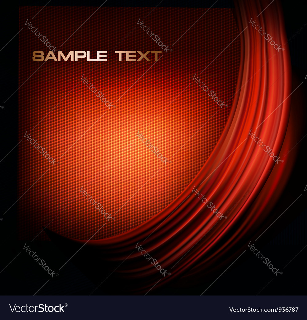 Red neon background with curves vector | Price: 1 Credit (USD $1)