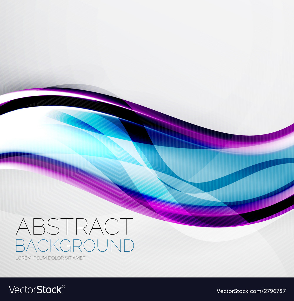 Wave abstract layout design vector | Price: 1 Credit (USD $1)