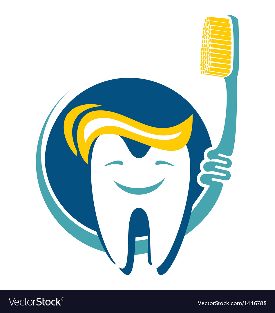 Dental hygiene icon vector | Price: 1 Credit (USD $1)