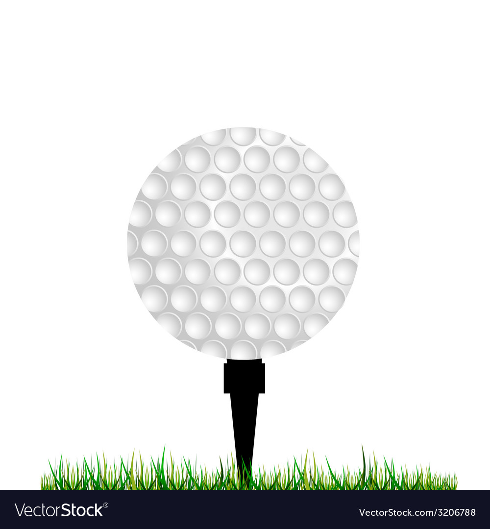 Golf balls vector | Price: 1 Credit (USD $1)