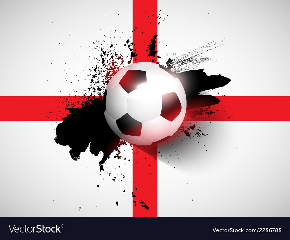 Grunge football soccer background vector | Price: 1 Credit (USD $1)