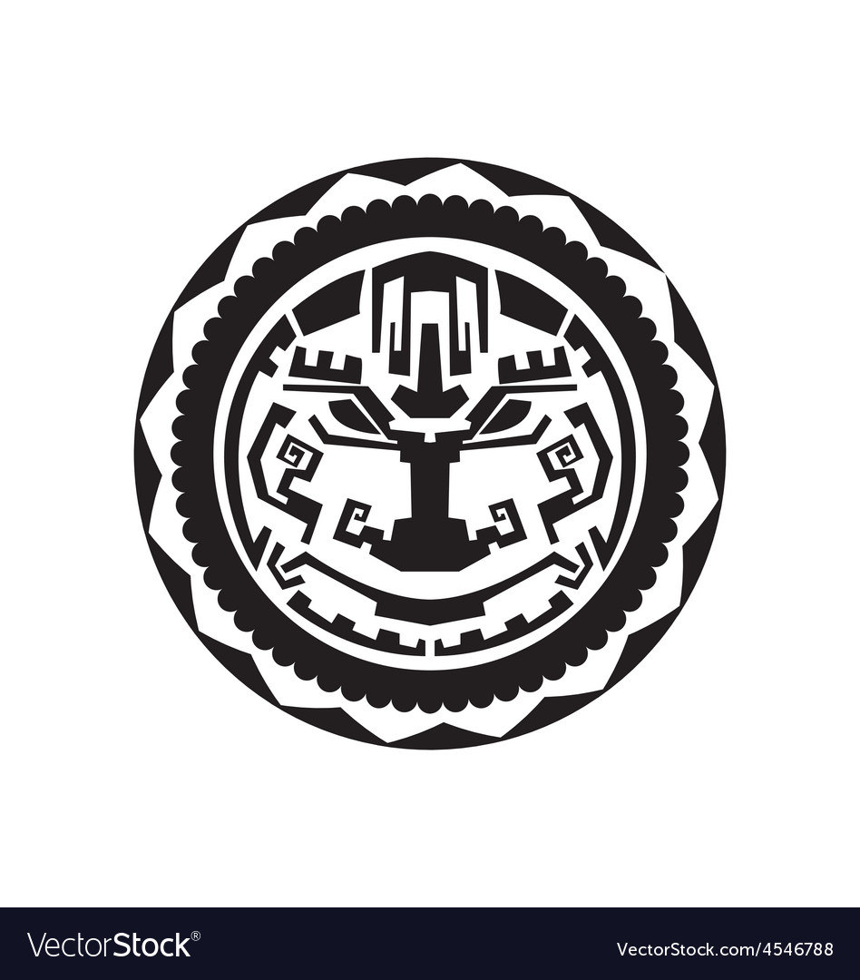 Polynesian tattoo vector | Price: 1 Credit (USD $1)
