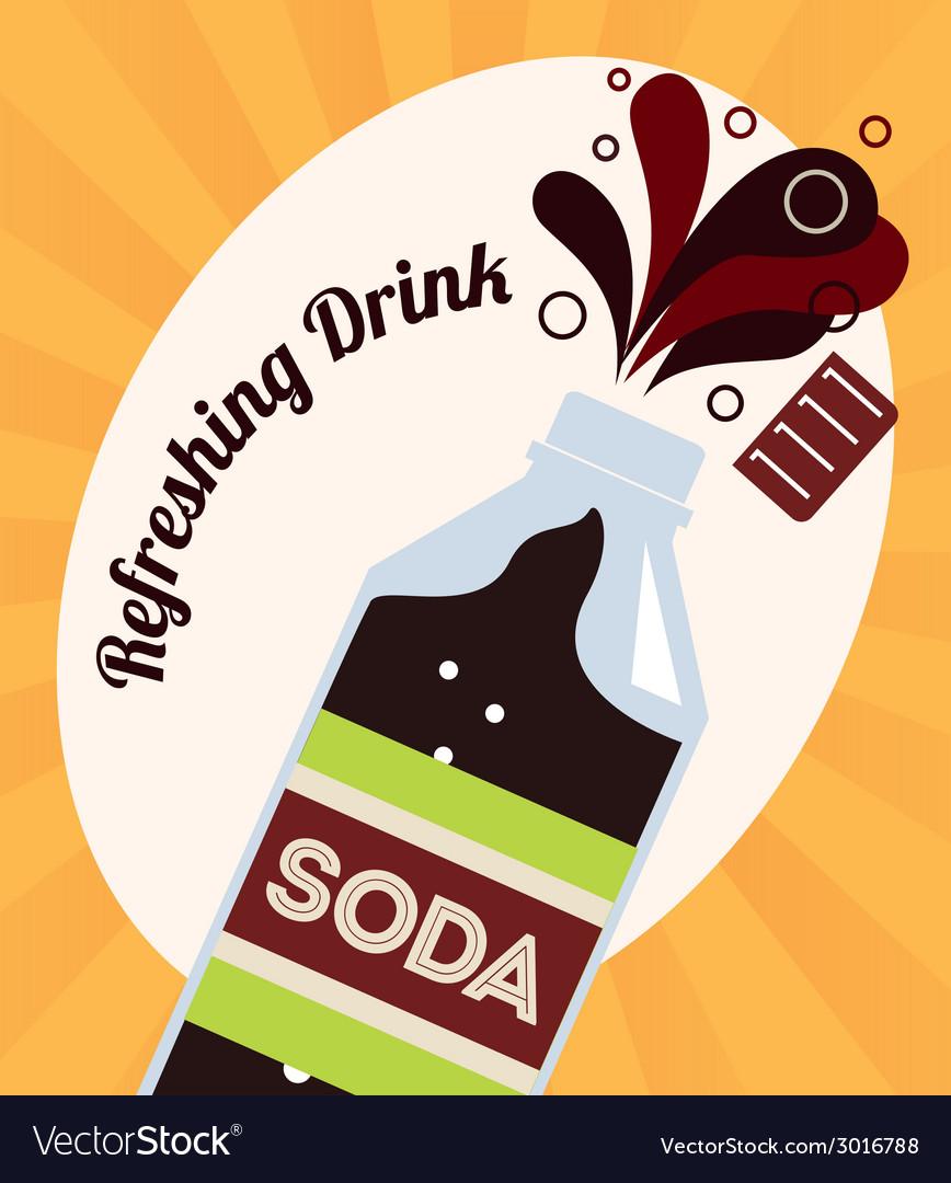 Soda design vector   Price: 1 Credit (USD $1)