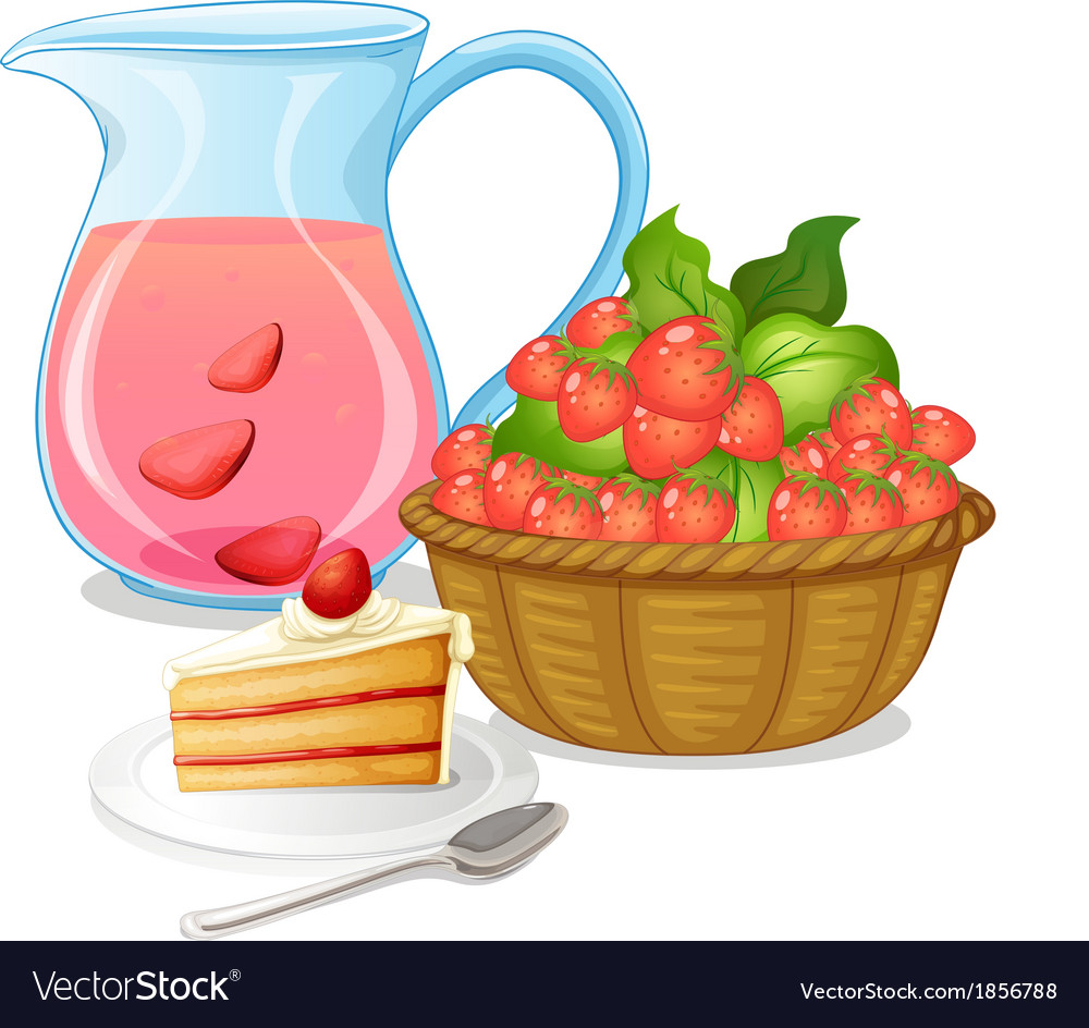 Sweet strawberries vector | Price: 3 Credit (USD $3)