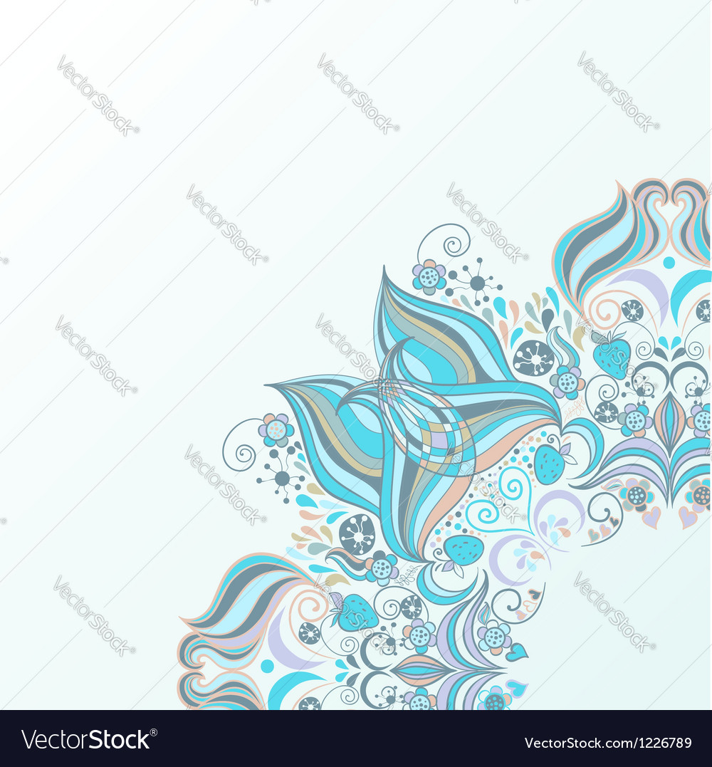 Design element with lacy frame vector | Price: 1 Credit (USD $1)