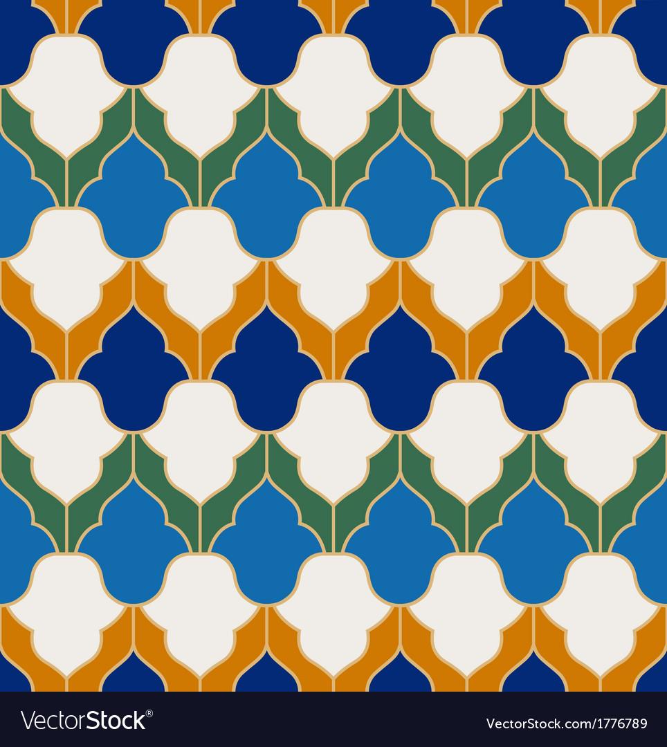Seamless islamic geometric pattern vector | Price: 1 Credit (USD $1)
