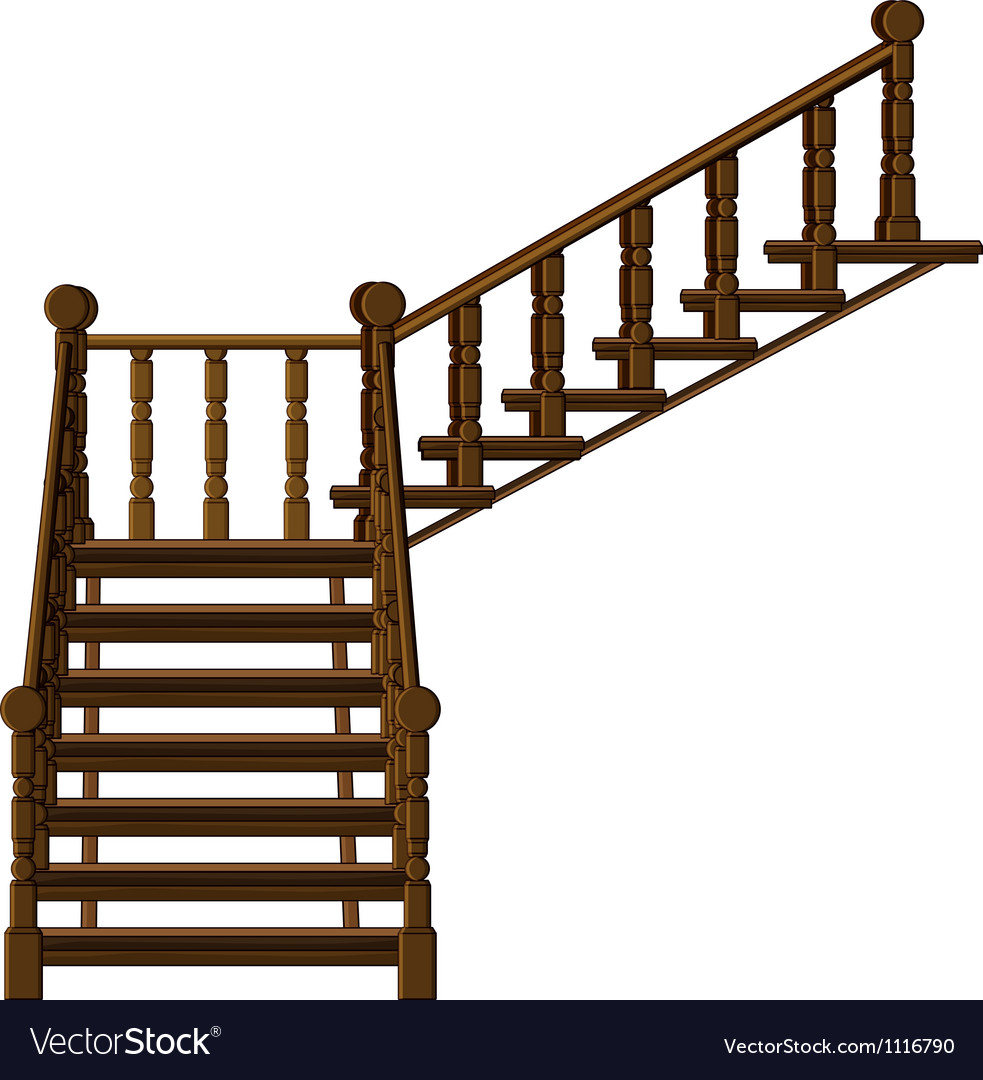 A staircase vector | Price: 1 Credit (USD $1)