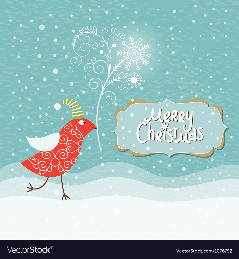 Christmas and new year card vector | Price: 1 Credit (USD $1)
