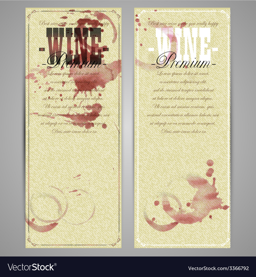 Wine background template vector | Price: 1 Credit (USD $1)