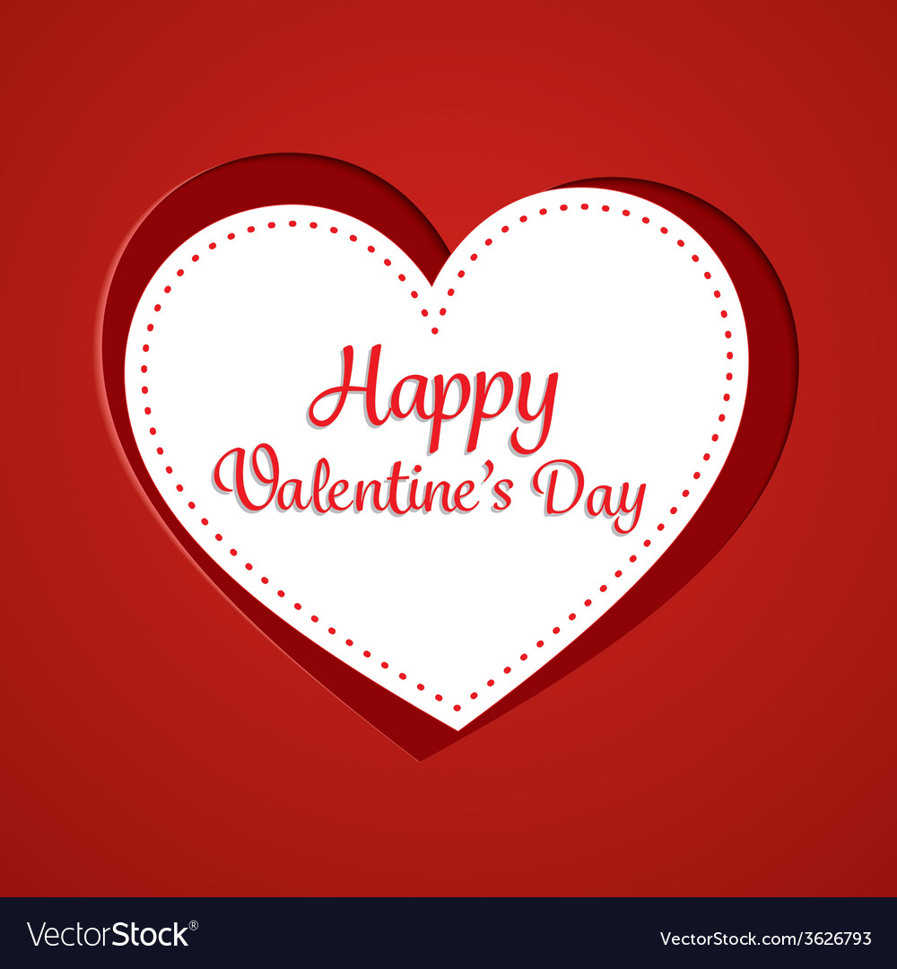 Happy valentines day cards vector | Price: 1 Credit (USD $1)