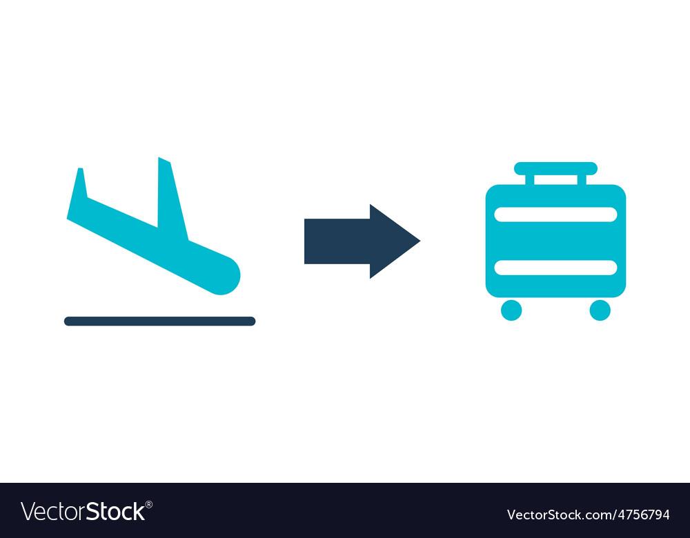 Airport design vector | Price: 1 Credit (USD $1)