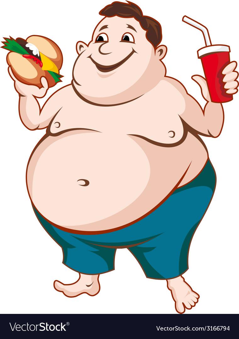 Fat man vector | Price: 1 Credit (USD $1)