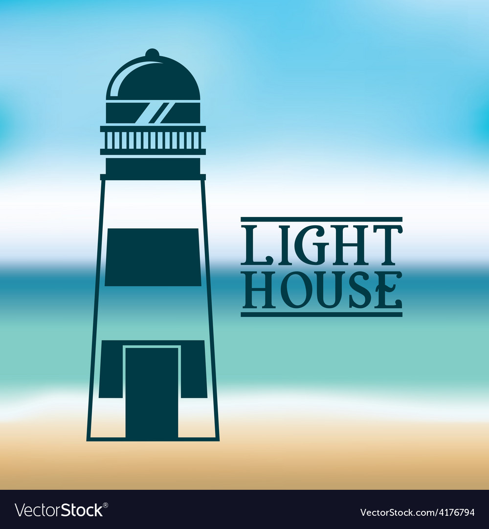 Light house vector | Price: 1 Credit (USD $1)