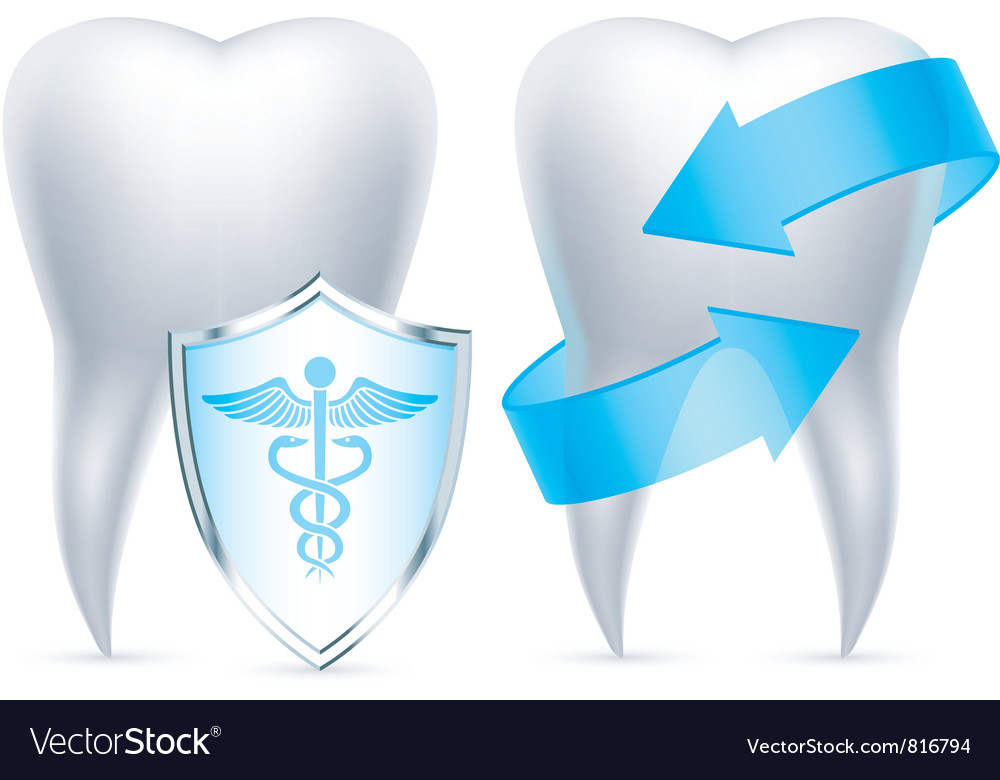 Teeth protection vector | Price: 3 Credit (USD $3)