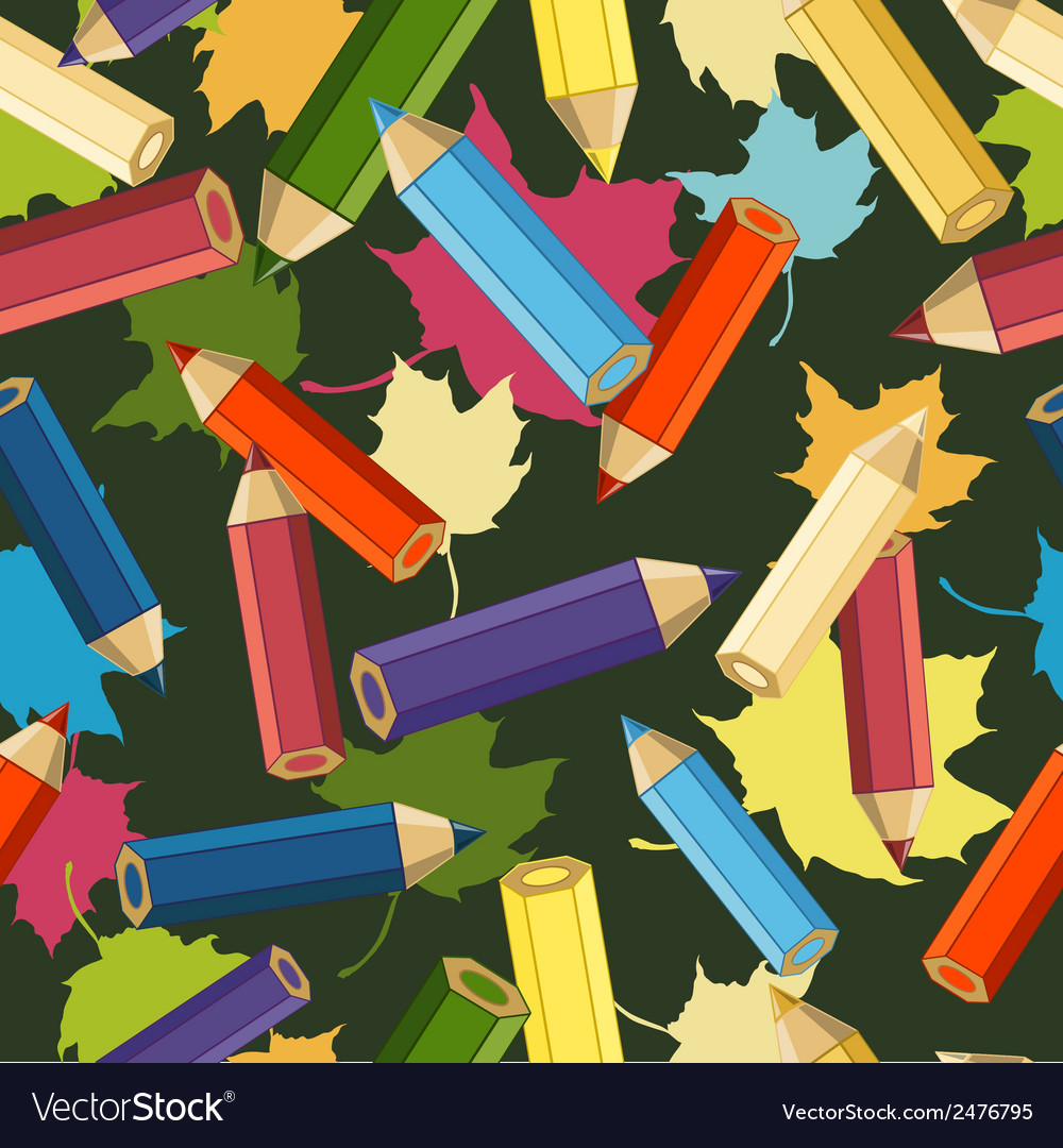 Back to school seamless school background vector | Price: 1 Credit (USD $1)