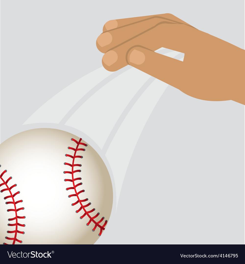 Baseball sport vector | Price: 1 Credit (USD $1)