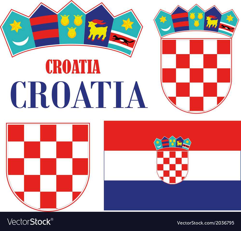 Croatia vector | Price: 1 Credit (USD $1)