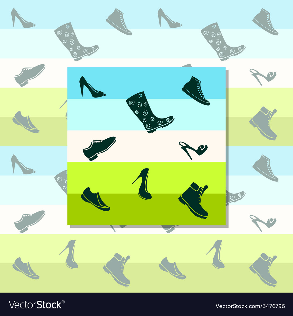 Black shoes vector | Price: 1 Credit (USD $1)