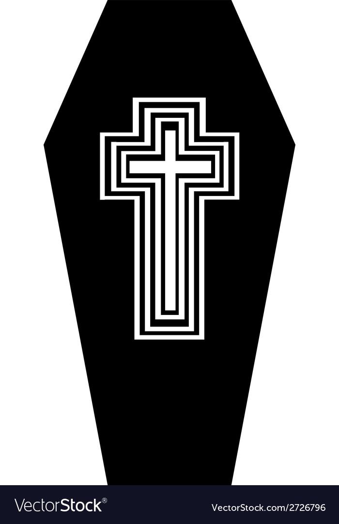 Coffin vector | Price: 1 Credit (USD $1)