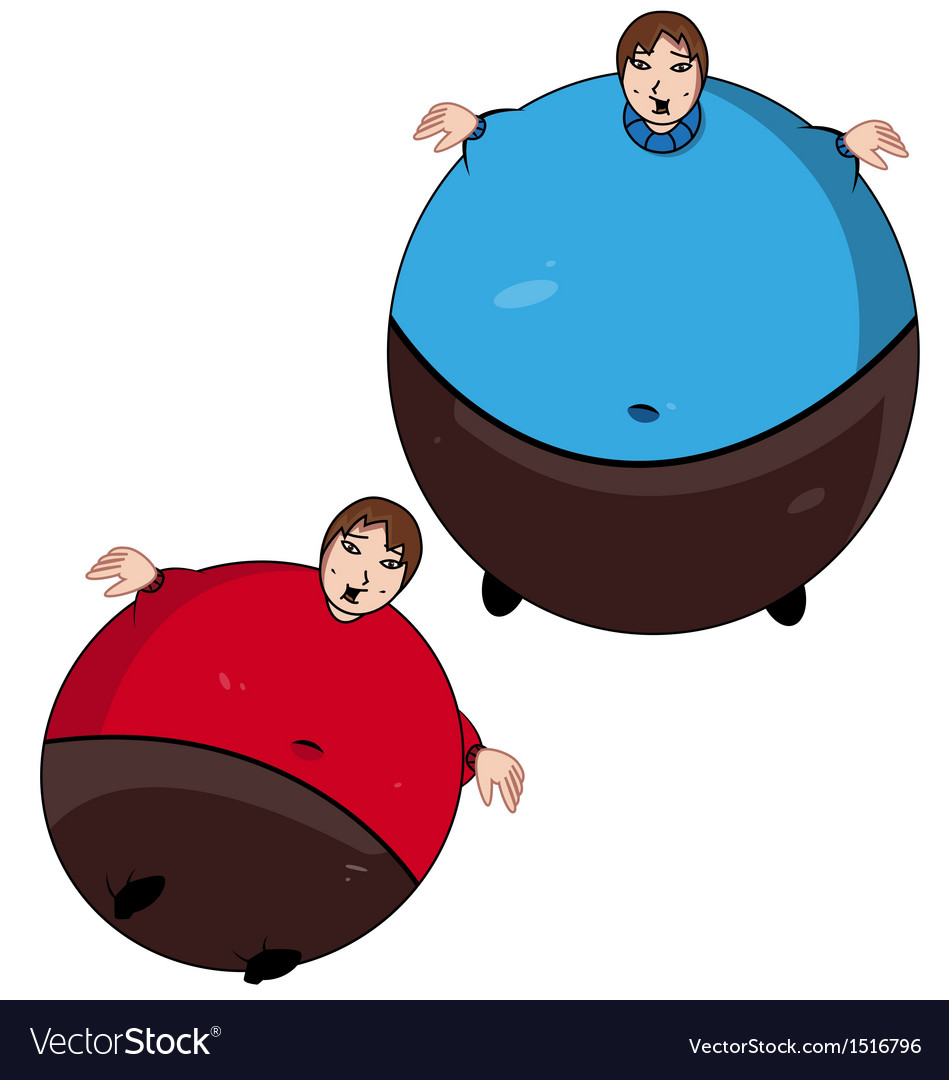 Fat kid vector | Price: 1 Credit (USD $1)