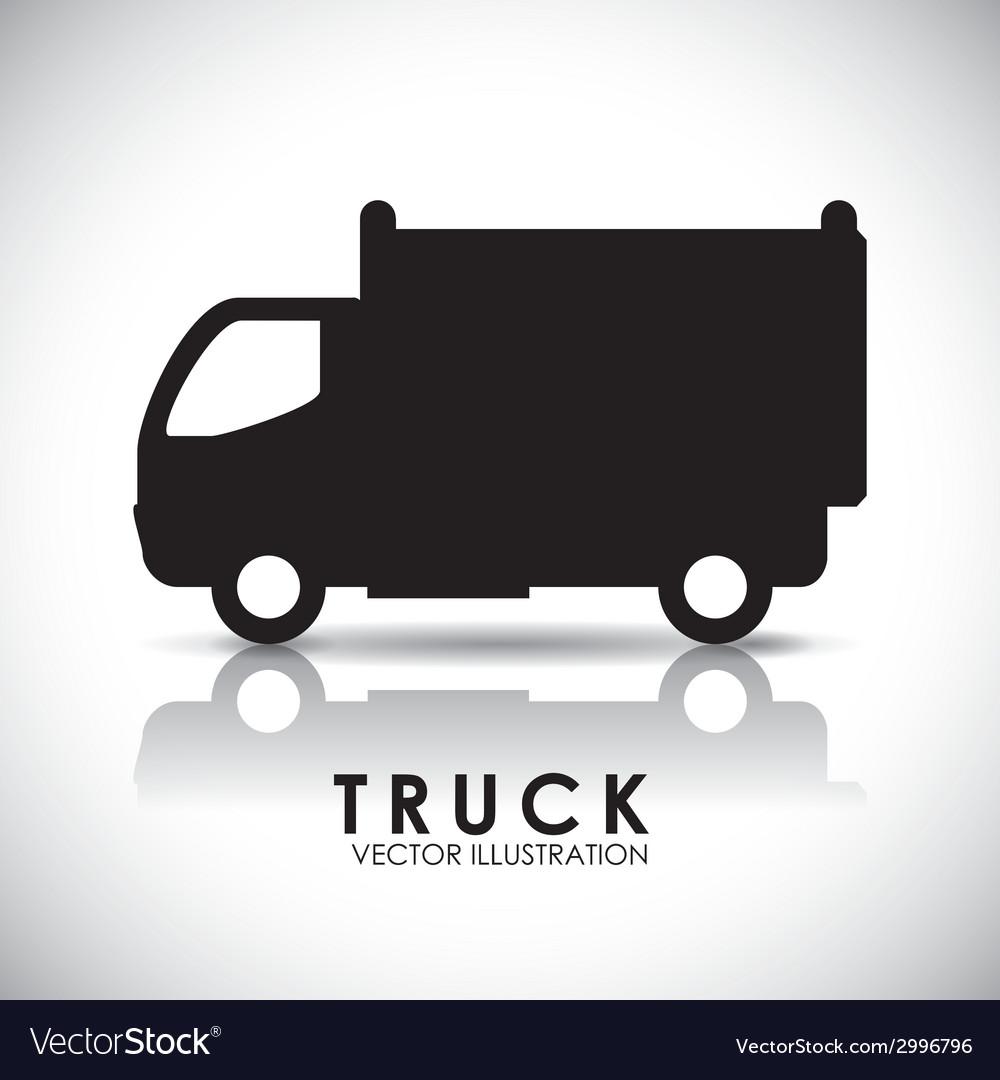 Truck design vector | Price: 1 Credit (USD $1)