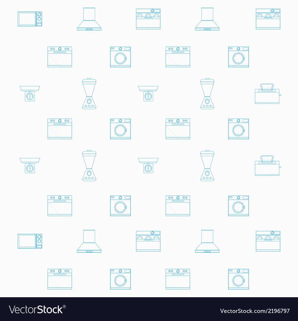 Background for household equipment vector | Price: 1 Credit (USD $1)