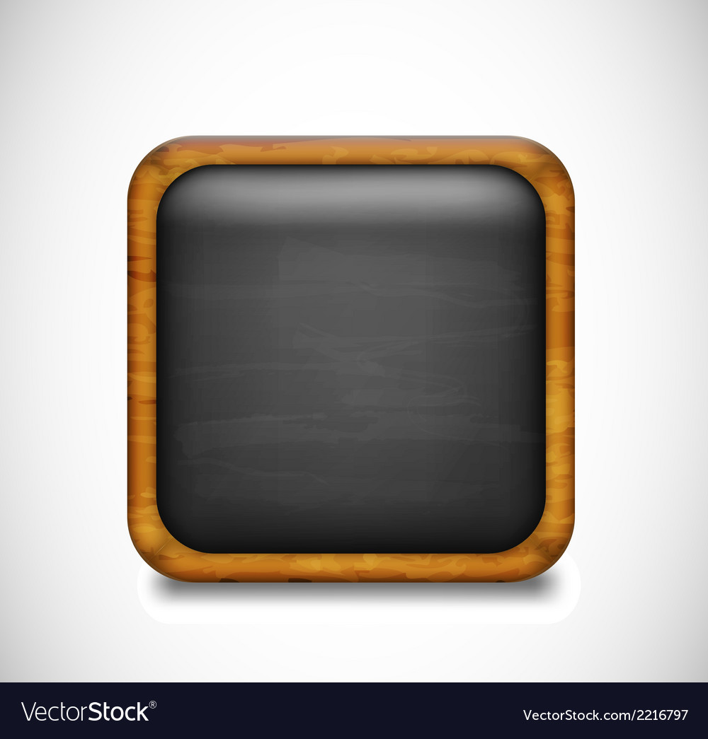 Black app icon vector | Price: 1 Credit (USD $1)