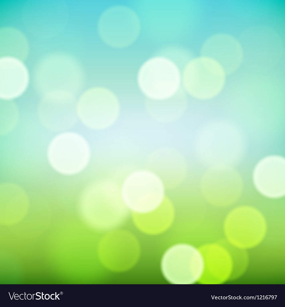 Bright colorful blurred natural background vector | Price: 1 Credit (USD $1)
