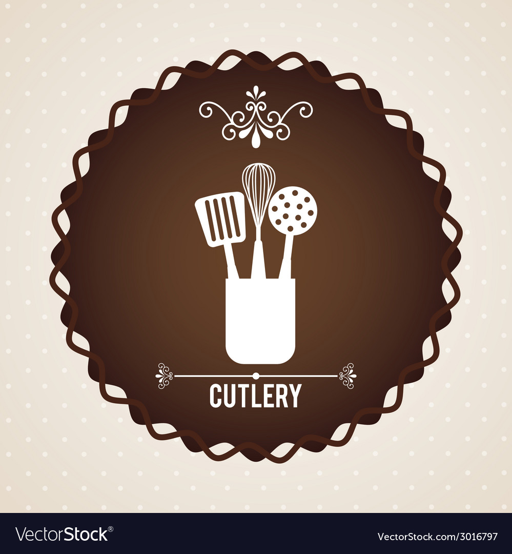 Cutlery design vector | Price: 1 Credit (USD $1)