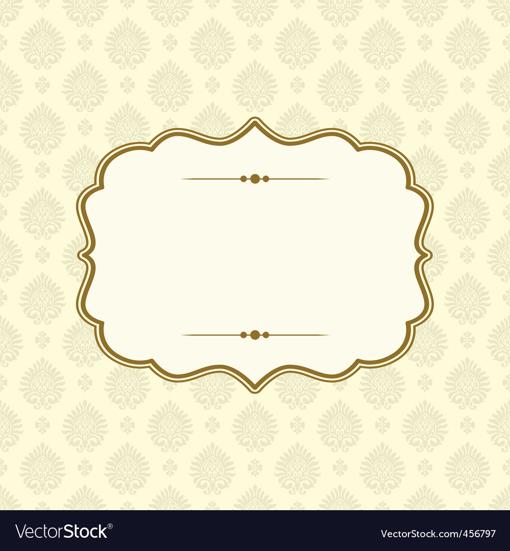 Victorian pattern vector | Price: 1 Credit (USD $1)