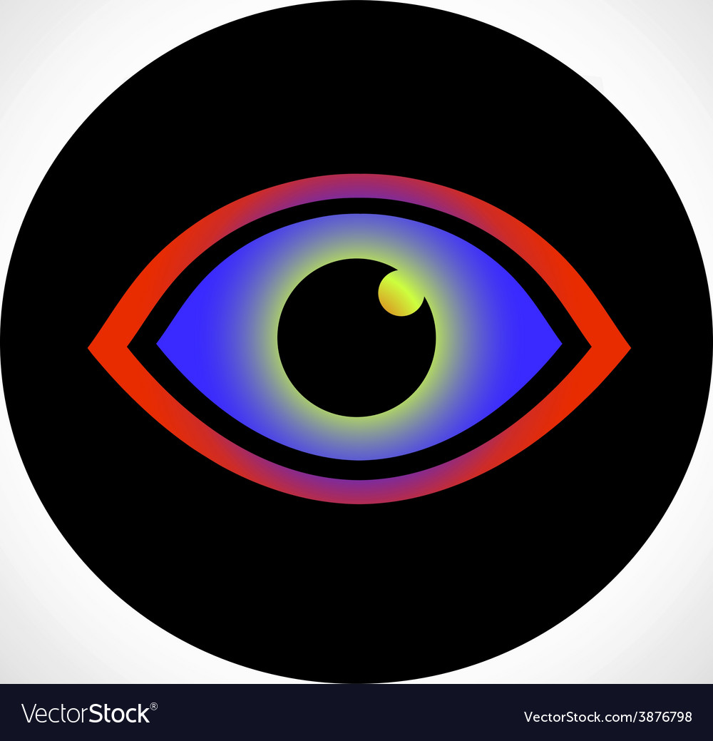 Eye icon vector | Price: 1 Credit (USD $1)