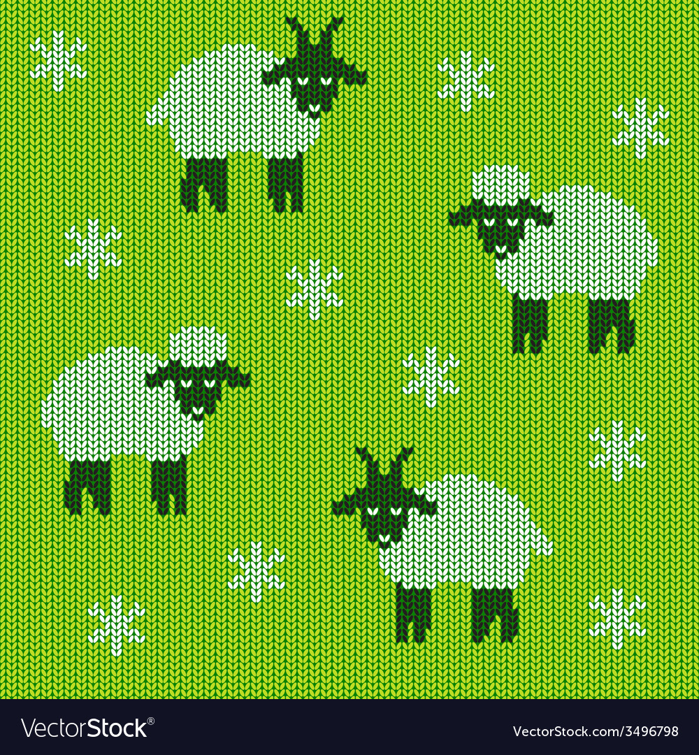Knitted holiday seamless vector   Price: 1 Credit (USD $1)