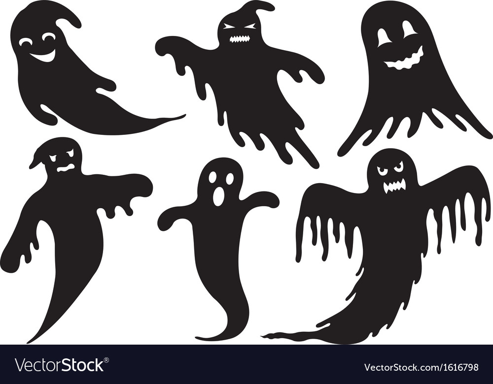 Of different ghosts vector   Price: 1 Credit (USD $1)