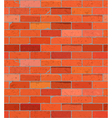 Red brick wall seamless pattern background vector