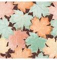 Maple leaves seamless wallpaper vector
