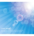 Abstract natural sunshine background vector
