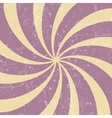 Retro vintage grunge hypnotic background vector