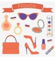 Fashionable set vector